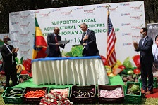 Local farmers to supply in-flight meals to Ethiopian Airlines