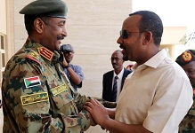 Sudanese military chief arrives Addis Ababa