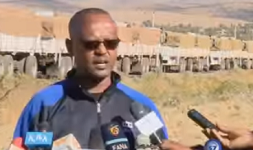 Ethiopia distributes humanitarian relief items in Tigray
