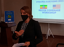 U.S. Embassy supports Ethiopian journalists training