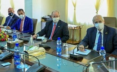 Ethiopia foreign minister meets U.S. special envoy to Sudan