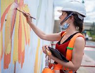 Ethiopia celebrates Europe Day with street art works