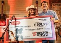 Tractor Supply Company donates $200,000