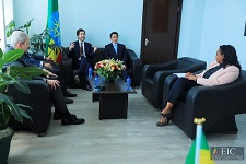 Boeing company delegation, commission discuss investment opportunities in Ethiopia