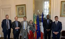 Ambassador Henok briefs France senators on 2021 Ethiopian election