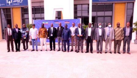 Kenyan delegation visits Ethiopia-Djibouti Railway Lebu Station