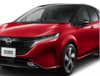 Nissan launches the all-new Note Aura in Japan