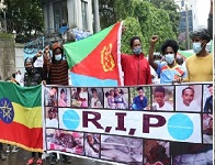 Eritrean refugees in Ethiopia rally opposing TPLF attack