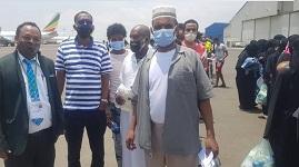 Ethiopia repatriates 443 individuals from Saudi Arabia