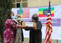 U.S. donates Johnson & Johnson vaccines to Ethiopia