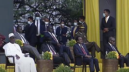 Several African leaders attend Ethiopia's PM inaugural